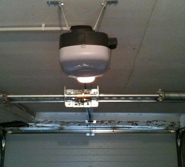 détecteur pour automatisme porte de garage