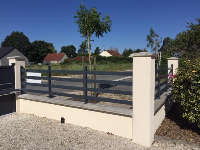 pose d'une clôture de notre fournisseur COFRECO